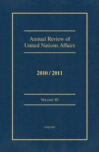 Annual Review of United Nations Affairs VOLUME 3 PDF ePub book