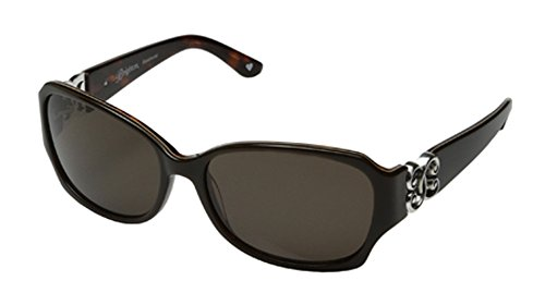 Brighton Let's Stay Together Dark Brown (Brighton Womens Sunglasses)