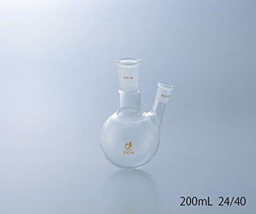 クライミング1-4329-09共通摺合二つ口フラスコ0078-07-30500mL B07BD2SVPW