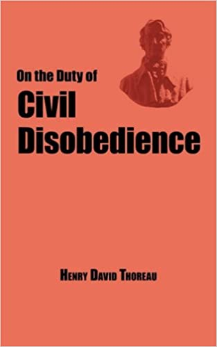 on the duty of civil disobedience thoreau s classic essay henry  on the duty of civil disobedience thoreau s classic essay by henry david