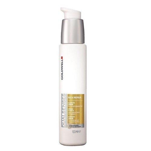(Goldwell Dualsenses Rich Repair Restoring 6 Effects Serum Treatment For Healthy, Silky Shine 3.4oz)