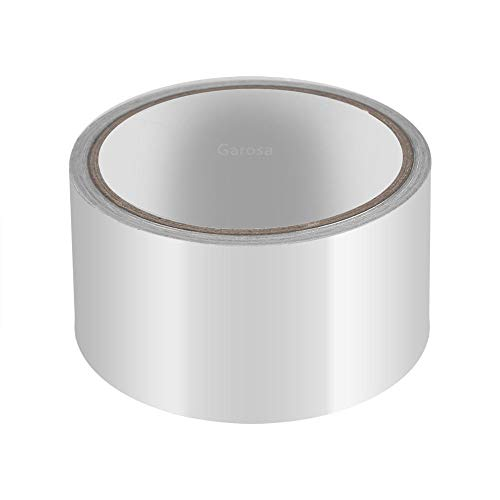 GLOGLOW Aluminum Foil Heat Shield Tape Adhesive Sealing Tape Thermal Resist Duct Repairs Tool
