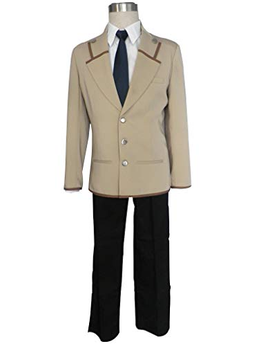 Mtxc Men's Angel Beats! Cosplay Costume Male Uniform 1st