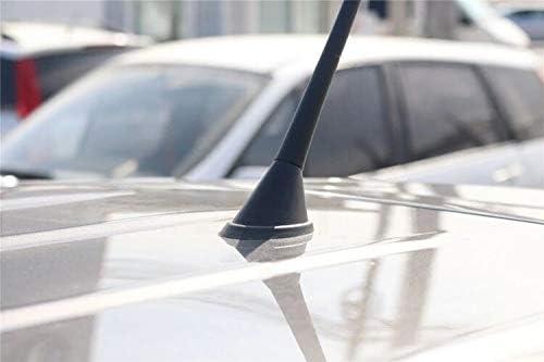 KERKARDI - Junta de antena para coche, reparación base negra, reparación juntas base antena, junta de goma antena de techo 16 V