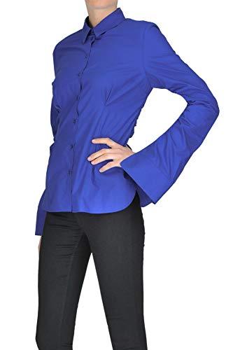 MCGLTPC000004014I Coton Pinko Bleu Femme Chemise 4aFx6FRAqw