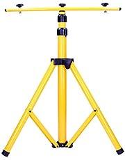 Orno NR-372ST statief voor 2x LED-spots 64 cm - 160 cm telescopische standaard hoogteverstelling kleur: geel