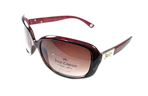 Juicy Couture Women's Oval Sunglasses Tortoise Brown