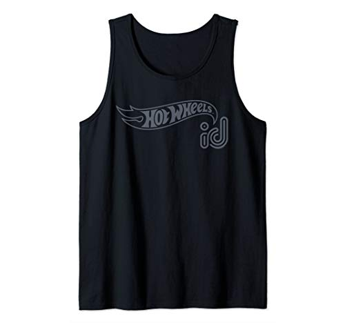 - Hot Wheels ID Gray Logo Tank Top