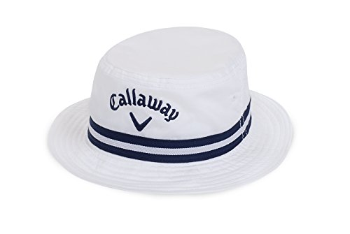 (Callaway 2016 Bucket Hat, White, Small/Medium)