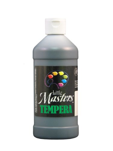 little-masters-by-rock-paint-201-755-tempera-paint-1-black-16-ounce