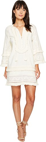 Boho-Chic Vacation & Fall Looks - Standard & Plus Size Styless - Rachel Zoe Women's Abigail Dress, Ecru