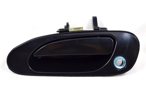 Driver Side Front PT Auto Warehouse TO-3605S-FL Smooth Black Outside Exterior Outer Door Handle