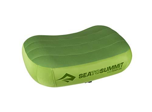 Sea to Summit Aeros Premium Pillow, Lime, Large (Sea To Summit Aeros Premium Deluxe Pillow)