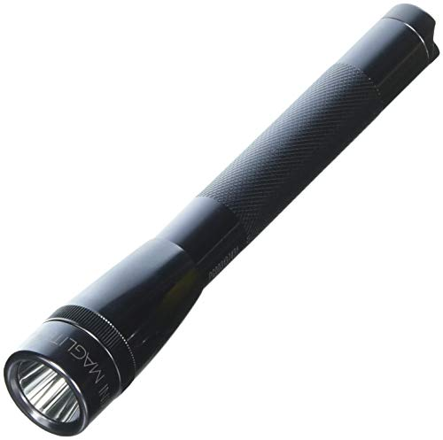 Maglite Mini PRO LED 2-Cell AA Flashlight with Holster Gray