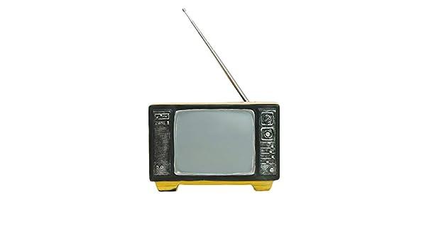 LHZTZKA Televisor Modelo Estilo Antiguo Resina Retro Decoración del hogar Artesanía Artículos de decoración Estudio Fotografía Accesorios: Amazon.es: Hogar
