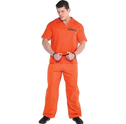 Standard Adult Jail Bird Prisoner Costume ()