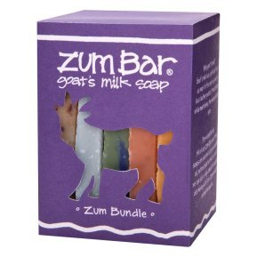Zum Bar Goat's Milk Soap Zum Bundle -- 9 oz