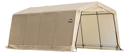(ShelterLogic Replacement Cover Kit 10x20x8 for Model 62680, 32680 (5.5oz Tan) )