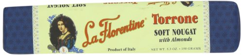 Italian Almond Candy (La Florentine Soft Torrone Bar, 5.3 Ounce)