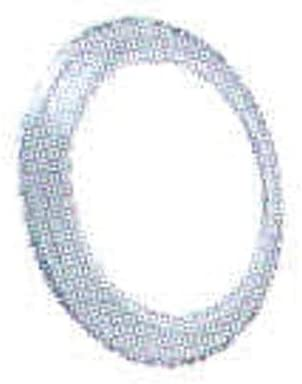 Alu Mat Diam/ètre 125 ISOTIP-JONCOUX 019112 Rosace Aluminium