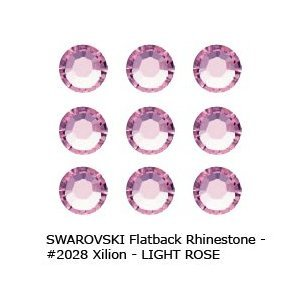 Swarovski Flatback RHINESTONE #2028 Xilion ss9