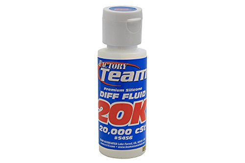 (Team Associated 5456 Premium Silicone Differential Fluid, 20000CST)