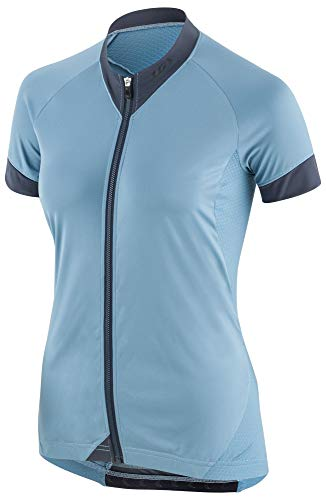 - Louis Garneau Women's Art Factory Zircon Cycling Jersey, Half Moon Blue, Small
