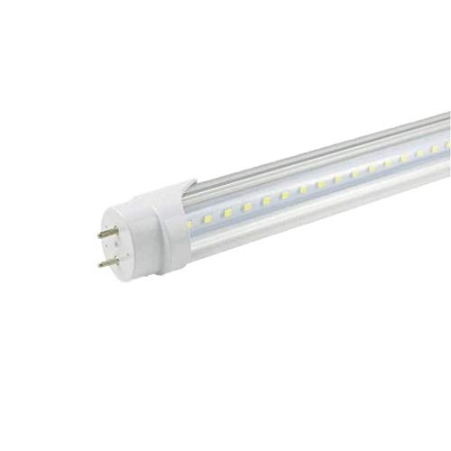 (T8 4ft led tube 22w 3000 lumens 5000K clear 4pcs Single Ended Power)
