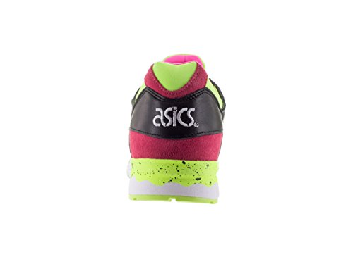 ASICS Men's Gel-Lyte V Leather/Synthetic Ankle-High Tennis Shoe Black/yellow great deals for sale buy cheap cost HZsuBore6d