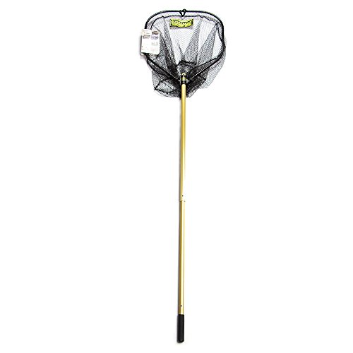 StowMaster TBS80NG Tournament Series Precision Landing Net, Gold/Black - Stowmaster Tournament Series