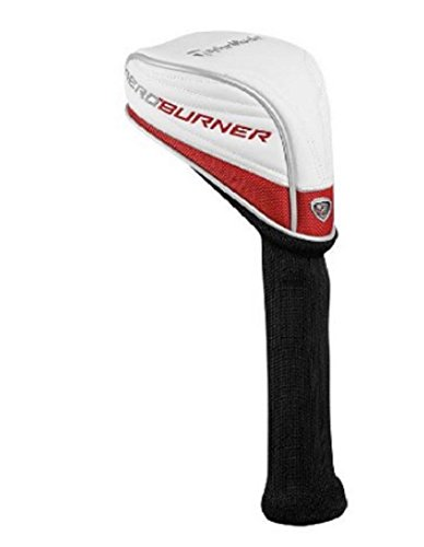 - NEW TaylorMade Aero Burner 460cc TP Driver Headcover White/Red/Grey