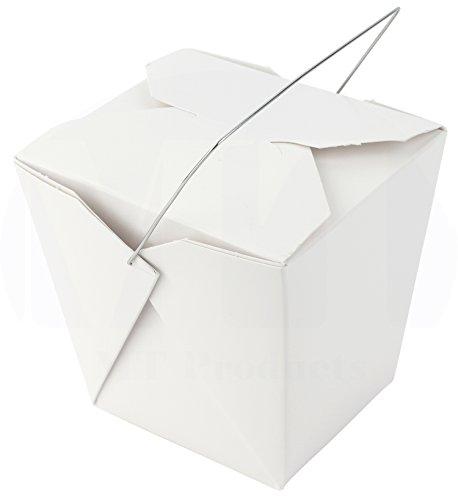 White Asian Take Out Boxes - 5