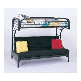 coaster-twin-futon-bunk-bed-high-gloss-black