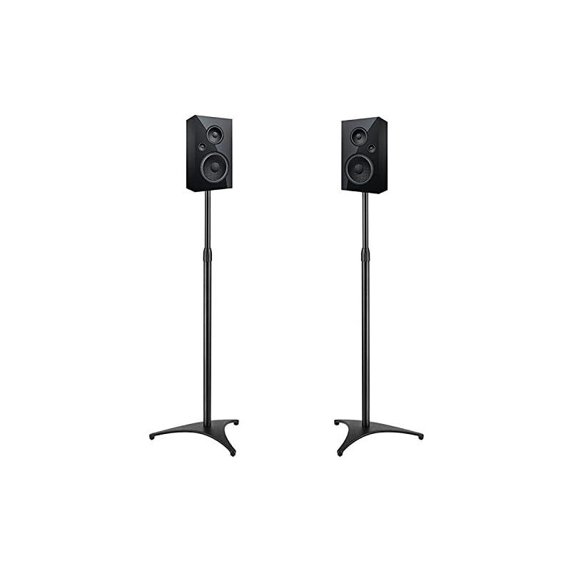 PERLESMITH Adjustable Height Speaker Sta