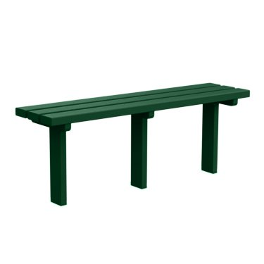 6' Backless Bench - 8