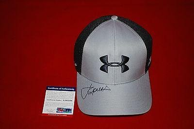 7c563bdc61a Image Unavailable. Image not available for. Color  golf star JORDAN SPIETH  signed under armour hat 2 - PSA DNA Certified - Autographed
