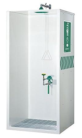 Haws 8605 WC sin barreras cabina cerrada combinación ducha y los ojos/cara lavar (