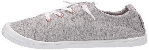 Roxy Women's Bayshore Slip on Shoe Sneaker, Dark Grey 20, 8.5 M US