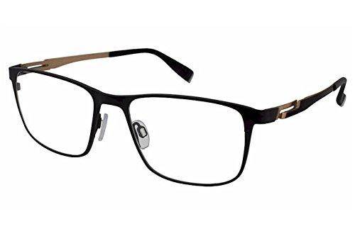 Charmant Perfect Comfort Eyeglasses TI12316 TI/12316 BK Black Optical Frame - Glasses Ti Brand