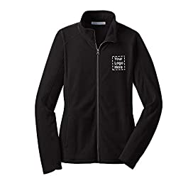Ladies Microfleece Jacket  36 Qty   35.66 Each   Promotional Jacket with Logo