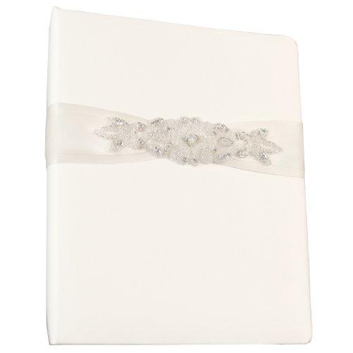 Ivy Lane Design Wedding Accessories Memory Book, Adriana, White