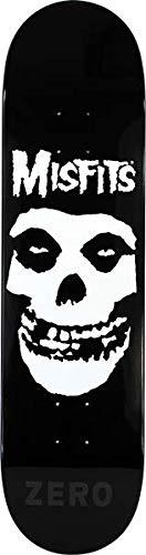 """Zero Skateboards Misfits Fiend Skull Skateboard Deck - 8"""" x 31.6"""""""