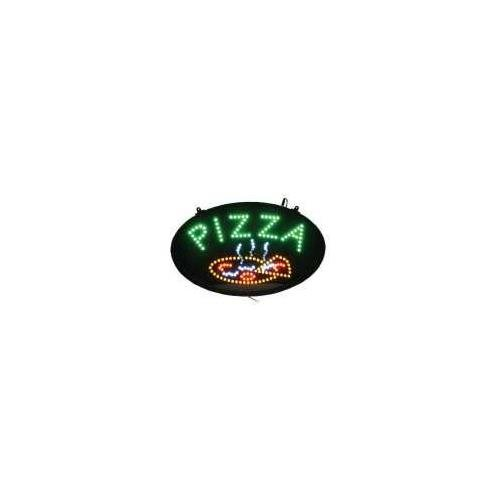 Winco LED Neon Pizza Sign with Dust-Proof Cover, 22.75 inch Length -- 1 (Pizza Outdoor Led Sign)