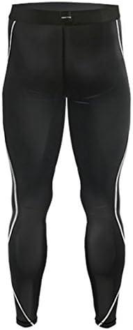 Color Negro para Running JustOneStyle 011 Leggings de compresi/ón para Hombres