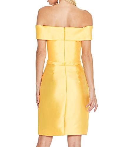Einfach La Rock Satin 2018 Ballkleider Partykleider Abendkleider mia Hell Gruen Abschlussballkleider Braut Etuikleider Elegant Knielang TEwxPR1Erq