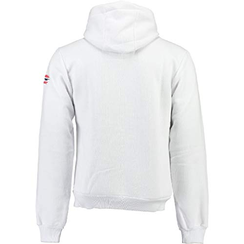 Garadock Blanc Capuche Norway À Sweat Geographical 100 Men FIq8w4xA