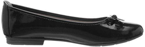 8 Softline Noir black Ballerines 8 22 Femme 018 22163 Patent 5qZ1aS