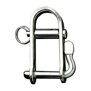 "RONSTAN HALYARD SHACKLE 1/4"""" PIN 1 1/4""""L X 3/4""""W boating equipment"