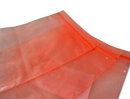 ESD - Bolsas de plástico con cierre de cremallera (100 ...