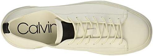 Calvin Klein Chaussures De Sport A La Mode Couleur Blanc Off White Taille 45 EU